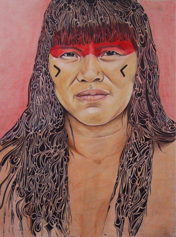 Índios brasileiros maisa shigematsu