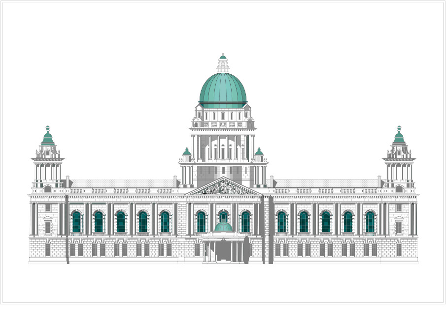 Belfast >> The Belfast City Hall - Global Archives Ltd